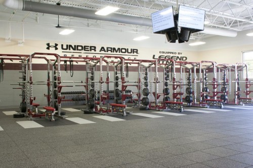 FHS Weight Room Design Of Fairview Park Education Foundation - Weight room design